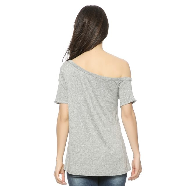 Short-Sleeved Love Printed Women's T-Shirt